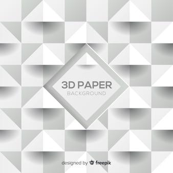 三次元紙スタイルの背景