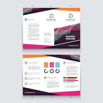 Trifold template design