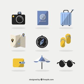 여행 요소 컬렉션