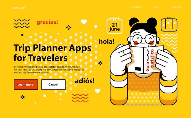 Планировщик путешествий приложения для путешественников.