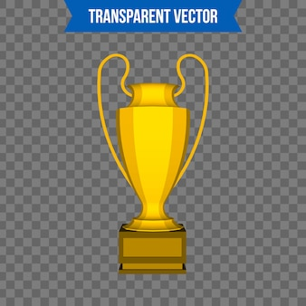 Trophy cup isometric 3d style