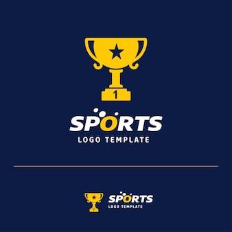 Trophy logo design