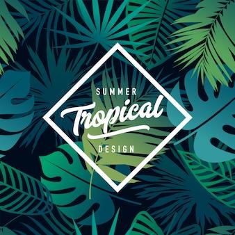 Тропический баннер