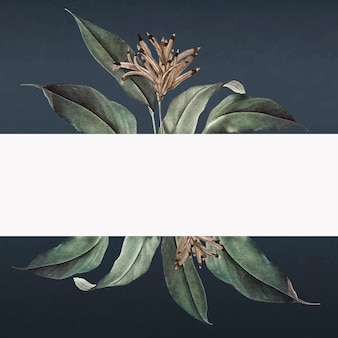 Tropical banner