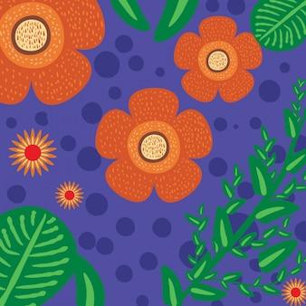 Tropical endemic flower - rafflesia arnoldii