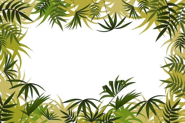Тропическая рамка.