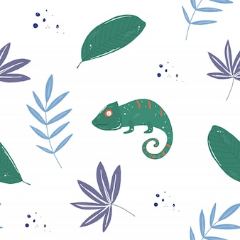 Tropical hameleons pattern