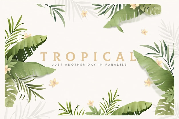 Free Tropical Leaves Vectors 45 000 Images In Ai Eps Format To get more templates about posters,flyers,brochures,card,mockup,logo,video,sound,ppt,word,please visit pikbest.com. free tropical leaves vectors 45 000