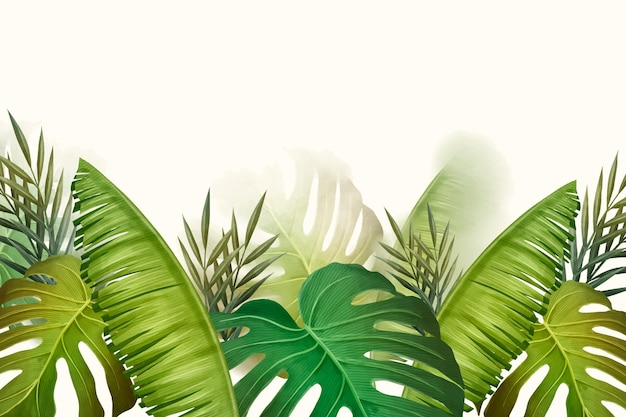 熱帯の壁画の壁紙