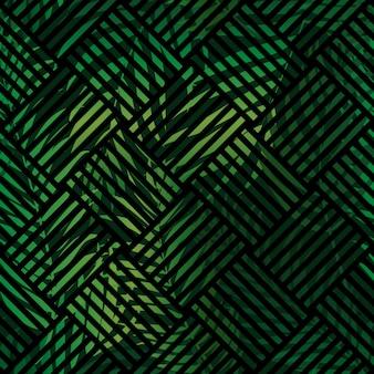 Tropical natural palm background.  illustration