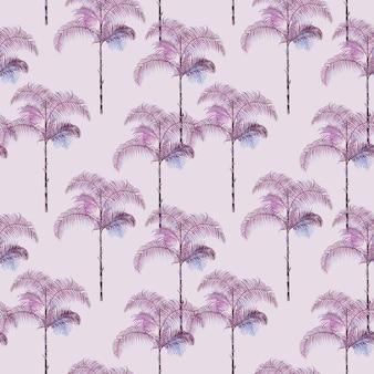 열 대 야자수 배경, 패션 섬유, 직물, 디자인, 브로셔 템플릿, 벡터 벽지 빈티지 원활한 여름 정글 패턴