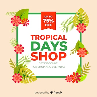 Tropical sales