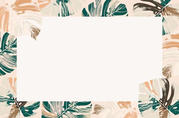 Тропический летний фон и обои лето векторная иллюстрация летний графический дизайн