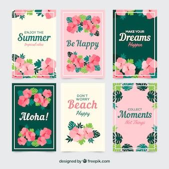 Тропические карты летних снов