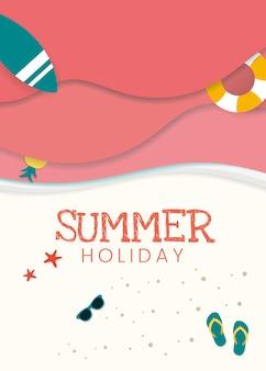 Tropical summer vacation