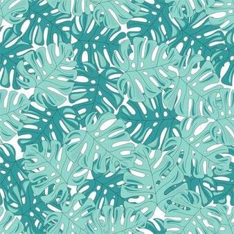 Тропический путешествия бесшовные шаблон цвета векторной иллюстрации