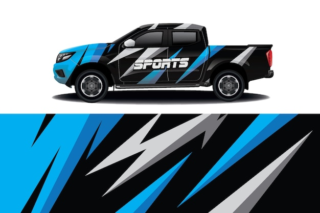 Дизайн наклейки на грузовик