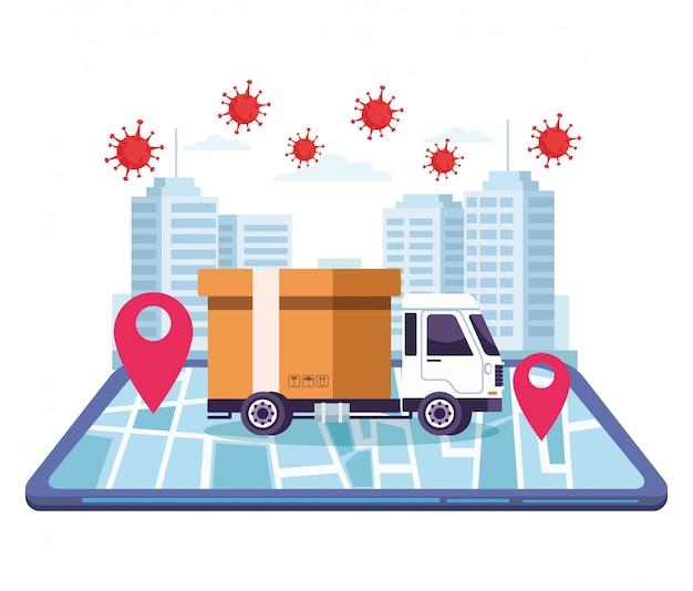 Доставка грузовиков онлайн сервис