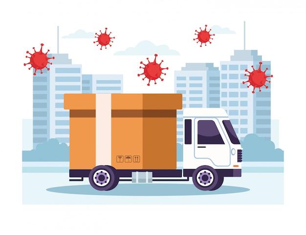 Служба доставки грузовиков