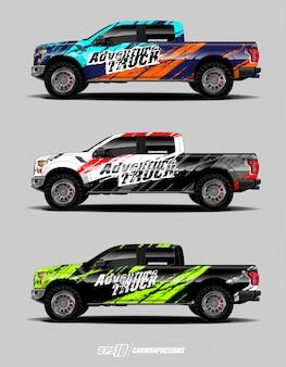 Truck graphic set