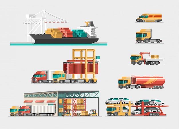 Truck isometric