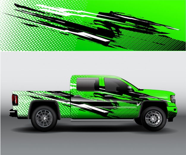 Truck livery car abstract vinyl