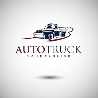Truck logo design