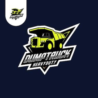 Truck transportation logo