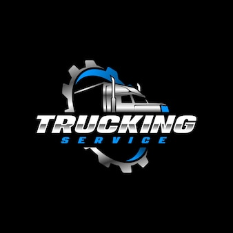 Trucking  logo template