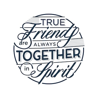 True friends are always together in spirit friendship quotes