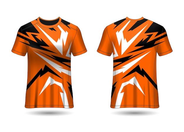 Tシャツスポーツデザインレーシングジャージベクトル