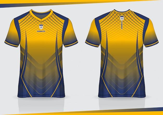 Tshirt sport soccer jersey template design