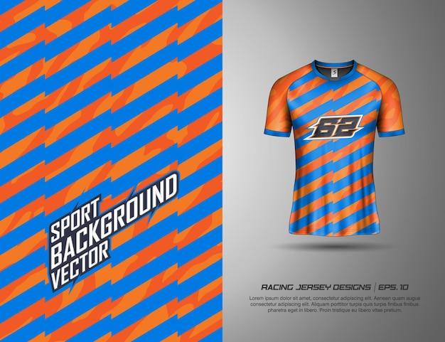 レース、ジャージ、サイクリング、サッカー、ゲーム用のtシャツスポーツデザイン