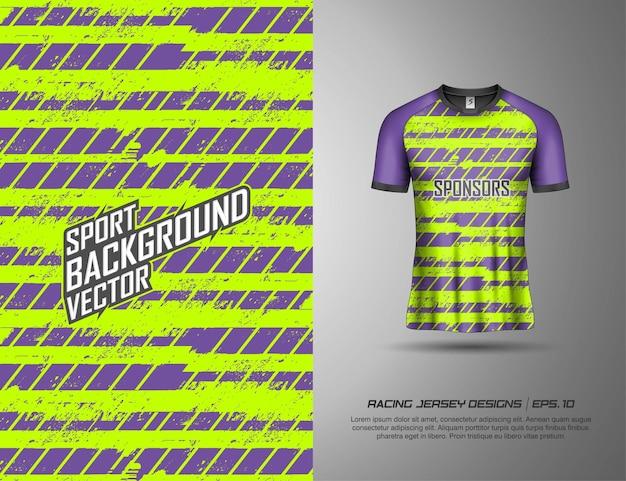 Tshirt sports design for racing, jersey, cycling, football, gaming