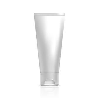 Tube of cream or gel. illustration
