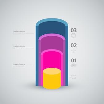 Tube section idea concept