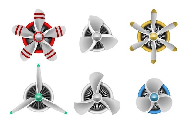 Turbines icons