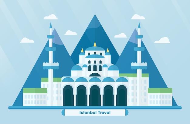 Turkey landmarks for travelling