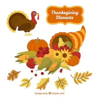 Turkey and other natural elements of thanksgiving
