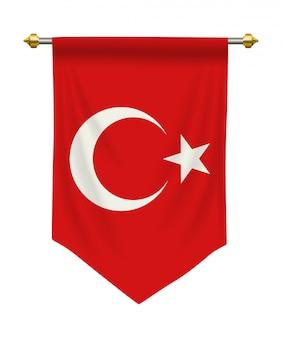 Turkey pennant