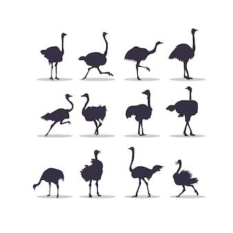 トルコのシルエットベクトルイラストデザイン