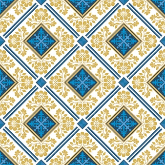Turkish ornament seamless pattern