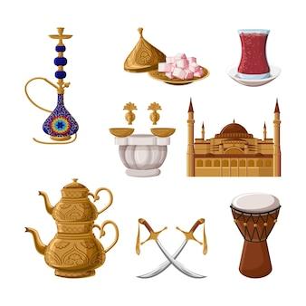 터키 전통 유산.