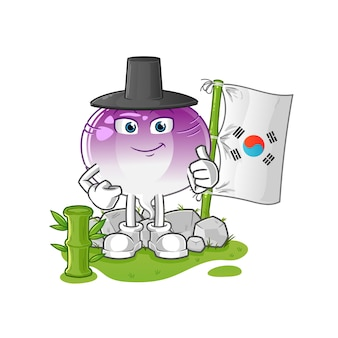Turnip korean character