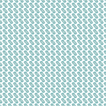 Turquoise abstract shapes pattern