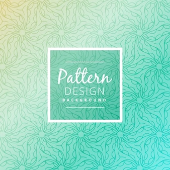 Turquoise pattern background