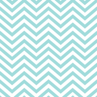 Turquoise seamless zigzag pattern vector