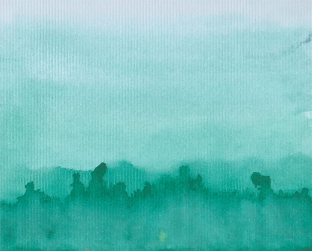 Turquoise watercolor texture background