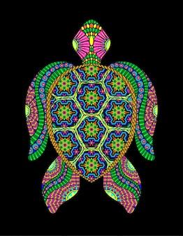 거북이 huichol 멕시코