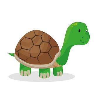 Черепаха зоомагазин изолированных значок